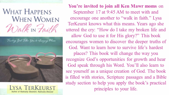Walk in Faith class